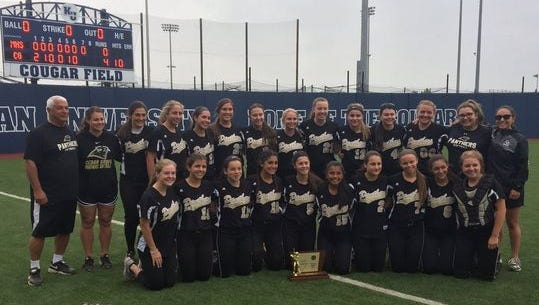 The Cedar Grove Panthers softball team won a Group 1 title in 2017. Then sophomore pitcher Mia Faieta threw four perfect games, including three that happened since the start of the state tournament.