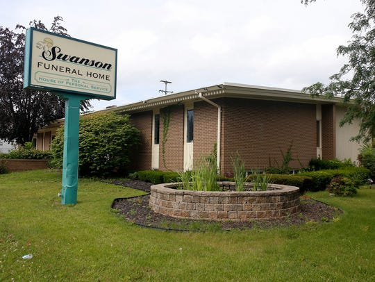 Swanson Funeral Home on Wednesday, July 12, 2017 in