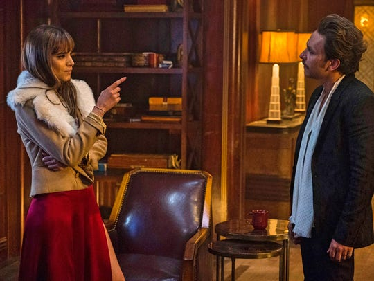 """Sofia Boutella and Charlie Day star in """"Hotel Artemis."""""""