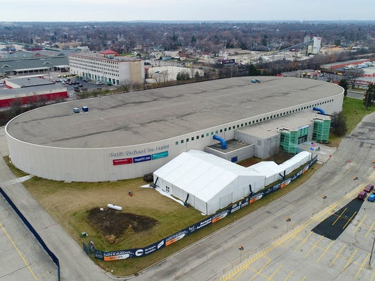 The Pettit National Ice Center in West Allis   will
