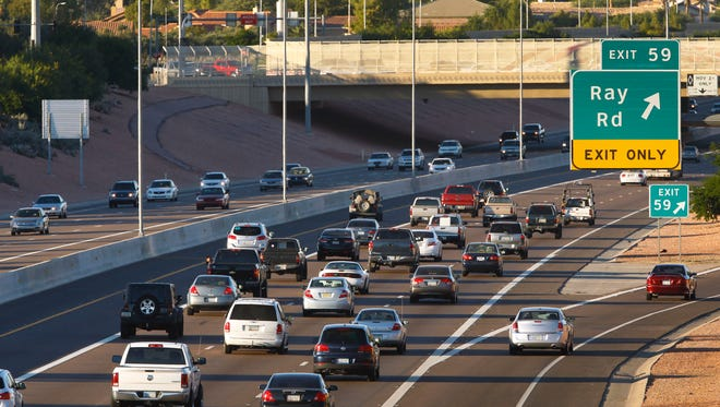 Temporary closures are planned on I-10 in the West Valley and the Loop 101 in north Phoenix beginning Friday night through Sunday.