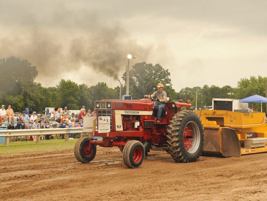 Tractor pulls are among the many activities scheduled