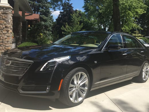 Review Twin Turbo Cadillac Ct6 Runs With The Big Dogs