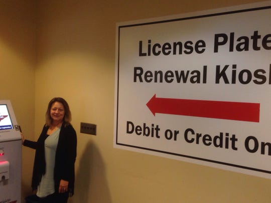 Rutherford County Clerk Lisa Duke Crowell poses by
