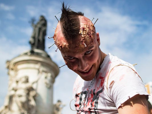EPA FRANCE WORLD ZOMBIE DAY ACE ENTERTAINMENT (GENERAL) FRA