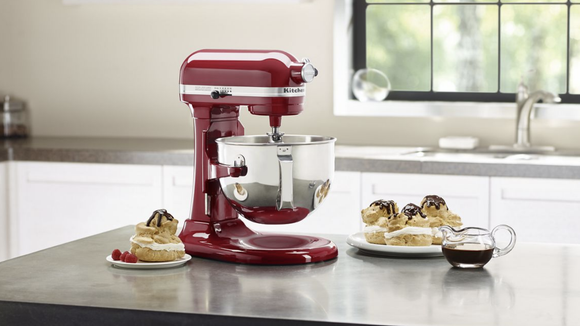 Nothing looks better on a countertop than a KitchenAid.