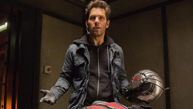 Paul Rudd shrinks in size, and charm, as the tiny superhero.
