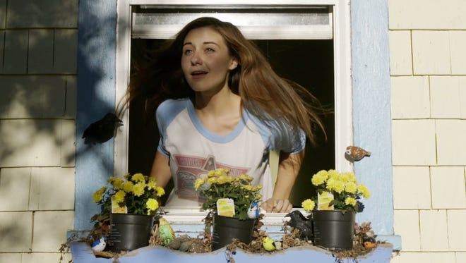 "Local web series ""Transplanting"" stars Hayley Heninger as Maeve."