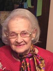 Mrytle Blahnik Dallman celebrated her 100 birthday.