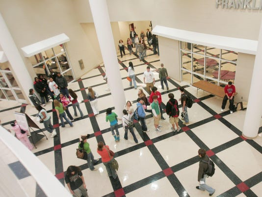 Franklin High Students embrace new school