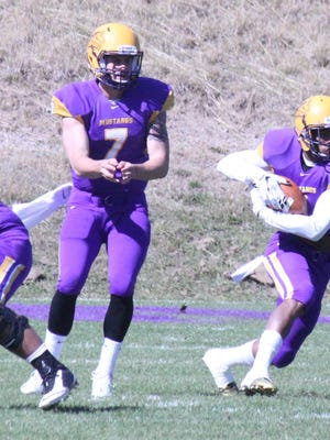 Western's Mitch Glasmann will play in his final home game as a Mustang on Saturday. The senior quarterback leads the nation in passing yardage.