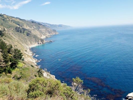 Big Sur's coastline is famous for its beauty.