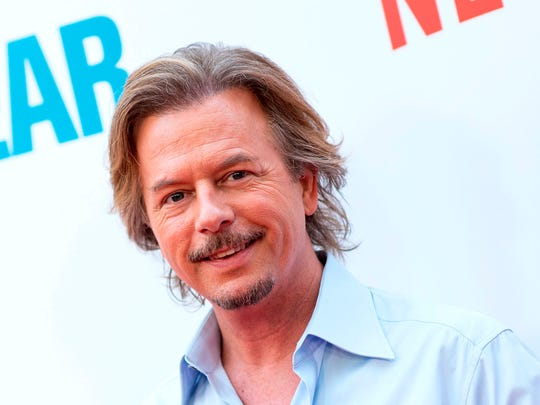"David Spade, seen last year at a film premiere, is the latest to try the post-""Daily Show"" slot on Comedy Central."