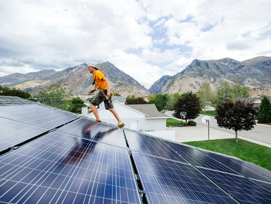 Vivint Solar has made more than 100,000 installations.
