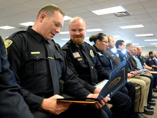 New officers in the Montana Law Enforcement Academy's