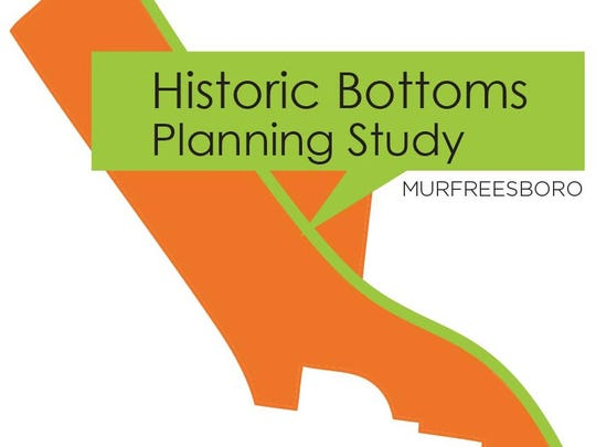 Map of historic Bottoms planning study.