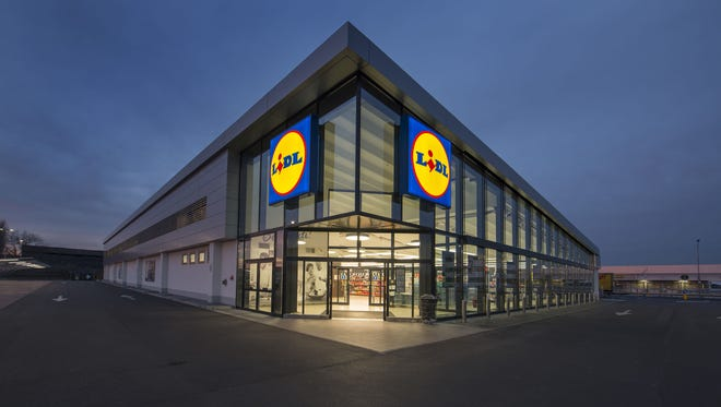 A Lidl store in Europe is shown. The German grocery chain is eyeing Dover for a new grocery store. A 7.5-acre stretch of land along North Dupont Highway was purchased by Lidl last week for $3.4 million.