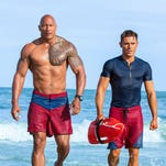 Review: Dwayne Johnson's bland 'Baywatch' can't commit to the absurd