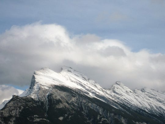 A view of the Canadian Rockies