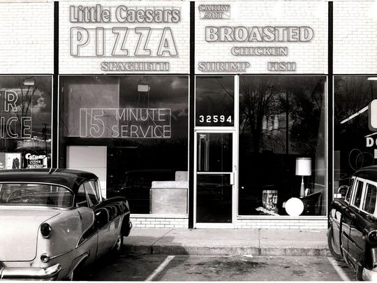 THE FIRST LITTLE CAESARS STORE   Mike and Marian Ilitch invested their $10,000 life savings to open the first Little Caesars store in Garden City in 1959.