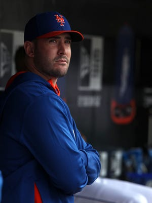 Matt Harvey will be 17 months removed from Tommy John elbow surgery.