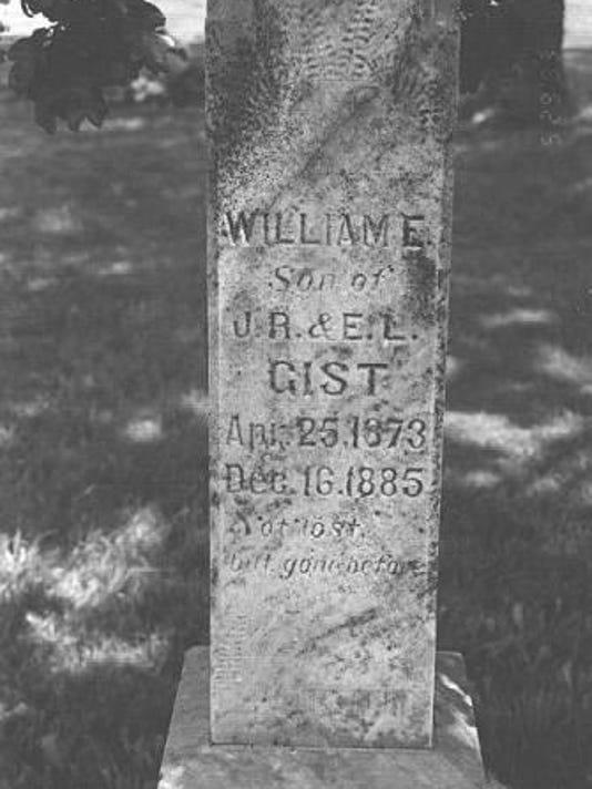 Gist headstone