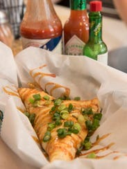 Crawfish pie is on the menu at Cajun Kate's 2, a new