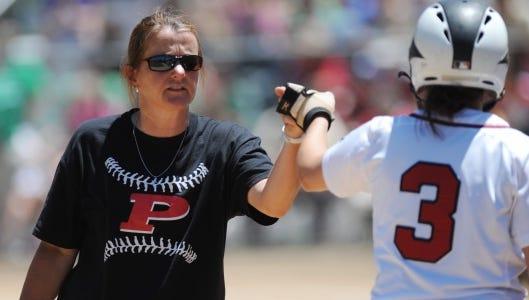 Pisgah softball coach Cyrena Goodwin.