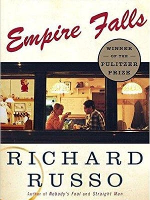 """Door County Reads is tackling the Pulitzer Prize-winning novel """"Empire Falls"""" by Richard Russo."""