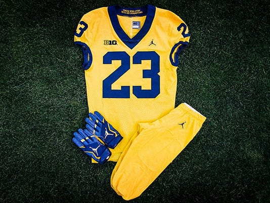 Michigan alternate uniforms