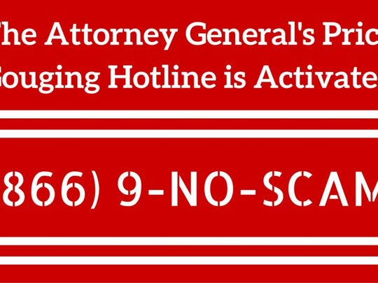 Florida Attorney General Pam Biondi has activated the state's gouging hotline.