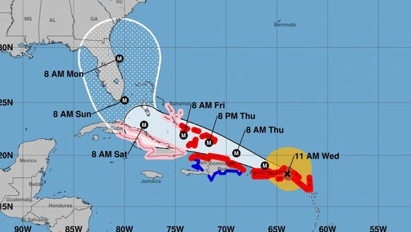 Hurricane Irma snarls Caribbean flights Is Florida next