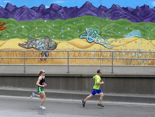 1st Avenue North mural