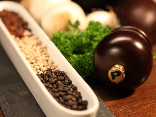 Pepper comes from peppercorns but there are a number