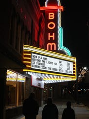 Bohm Theater in Albion. Stephanie Parshall/For The