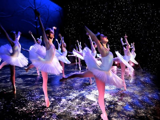 A presentation of  'The Nutcracker' at Wilmington's Grand Opera House.