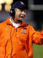Former Blackman football coach Philip Shadowens, who is now at William Blount, faces Oakland on Friday.