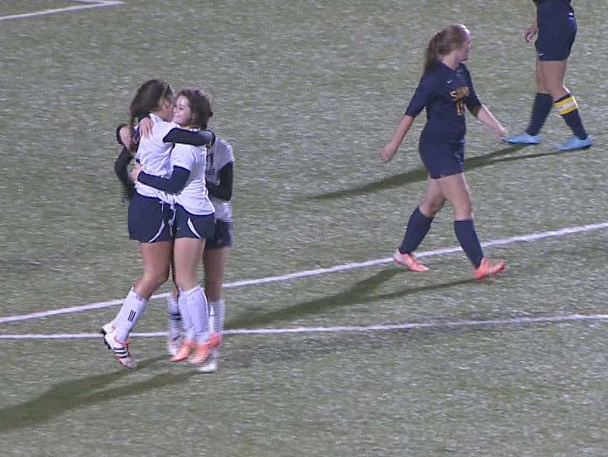 Mt. Spokane scored twice late to edge Southridge for the 3A Regional Soccer Championship.