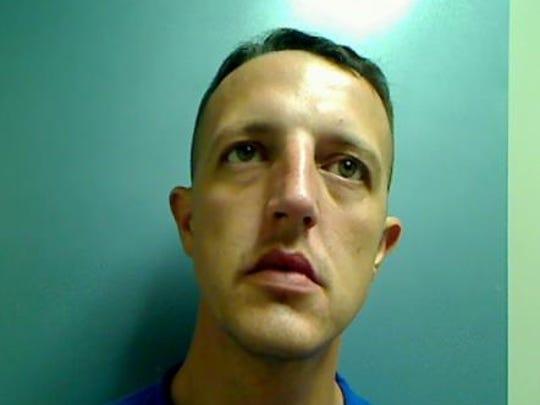 Jon Ryan Temple, 32, of Mansfield