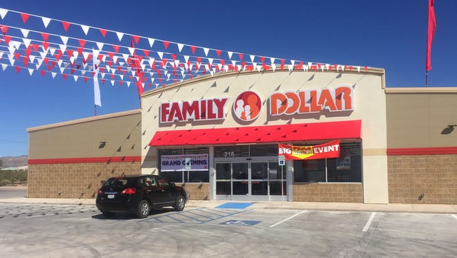 The Family Dollar store at U.S. Highway 54 South and Alamo Street will host a grand opening with gift cards given to the first 50 shoppers through the door Saturday.