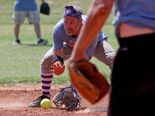 Teams compete Saturday, May 19, 2018, at The Wind Up for Down Syndrome Softball Tournament at Wichita Falls Softball Complex. The funds from the tournament go to support The Upside, Advocacy and Advancement for Individuals with Down Syndrome.