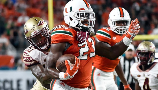 Miami hopes to break a seven game losing streak to Florida State when the two rivals square off at Doak Campbell Stadium on Saturday afternoon.
