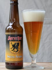 Special Amber, Vienna-style lager, Sprecher Brewing