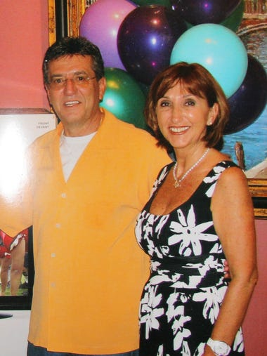 Guy and Maria Amato, 10 years ago at Vincent's 30-year