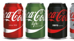 Coke is experimenting with a new unified look for its