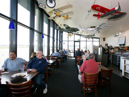 Flight Deck Restaurant and Lounge, located at 2680 Aerial Way SE, scored 97 on its semi-annual restaurant inspection Oct. 25.