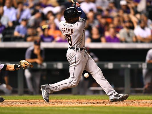 MLB: Detroit Tigers at Colorado Rockies