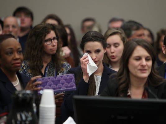 Day seven - Nassar sentencing - victim impact statements