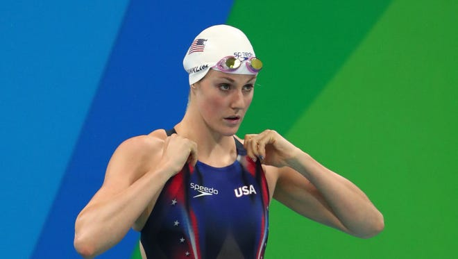 Missy Franklin failed to qualify for finals in either of her two individual events, the 200 free and the 200 backstroke at the Rio Olympics.