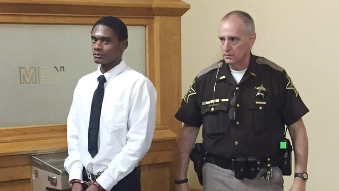 Jurors found Darius Printup not guilty of killing elementary school art teacher Kristi Redmon on Oct. 12, 2016.